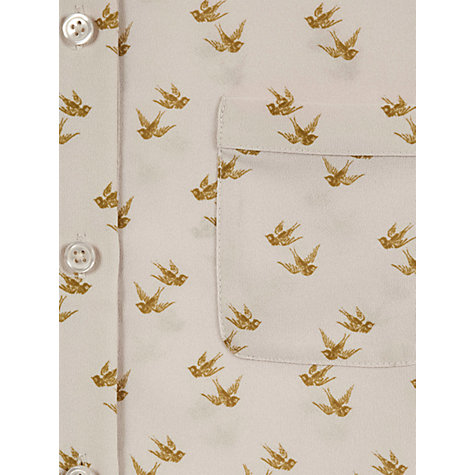 Buy NW3 by Hobbs Chaffinch Shirt, Vanilla Cream Multi Online at johnlewis.com