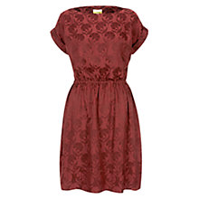 Buy NW3 by Hobbs Nouveau Dress, Burnt Red Online at johnlewis.com