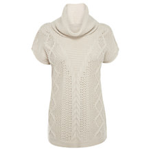 Buy Oasis Cable Trapeze Top Online at johnlewis.com