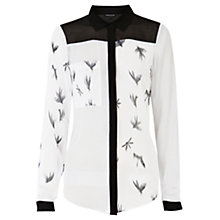 Buy Warehouse Mixed Print Shirt, Multi Online at johnlewis.com