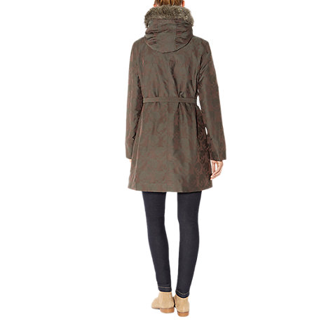 Buy NW3 by Hobbs Floral Parka, Fern Green Multi Online at johnlewis.com