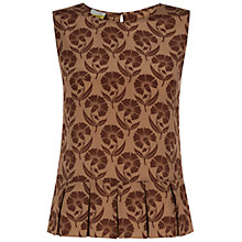 Buy NW3 by Hobbs Art Nouveau Top, Apricot Multi Online at johnlewis.com