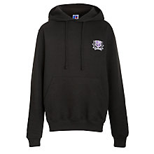 Buy Alderbrook Senior School Unisex Hooded Sports Sweatshirt, Black Online at johnlewis.com