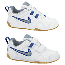 Buy Nike Lykin 11 Trainers, White/Grey Online at johnlewis.com