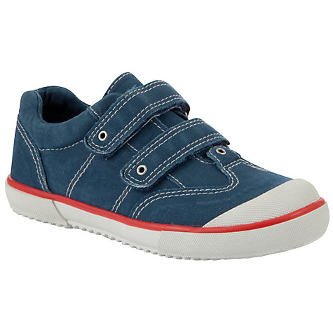 Buy John Lewis Boy Bradley Canvas Trainers Online at johnlewis.com