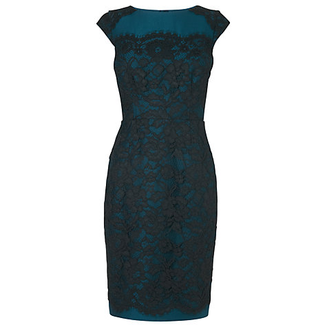 Buy L.K. Bennett Lavinie Lace Detail Dress Online at johnlewis.com