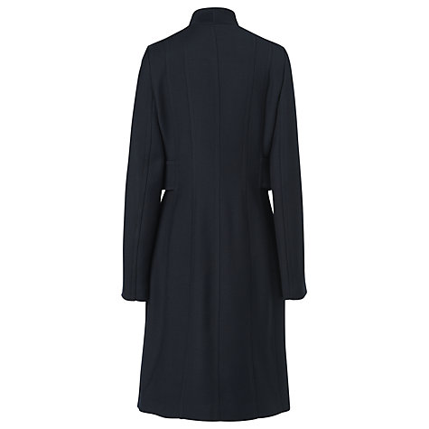 Buy L.K. Bennett Lezlie Fitted Coat, Navy Online at johnlewis.com