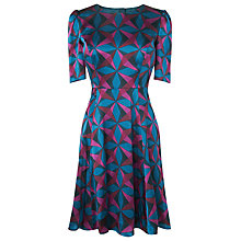 Buy L.K. Bennett Janeva Fit and Flare Dress, Multi Online at johnlewis.com