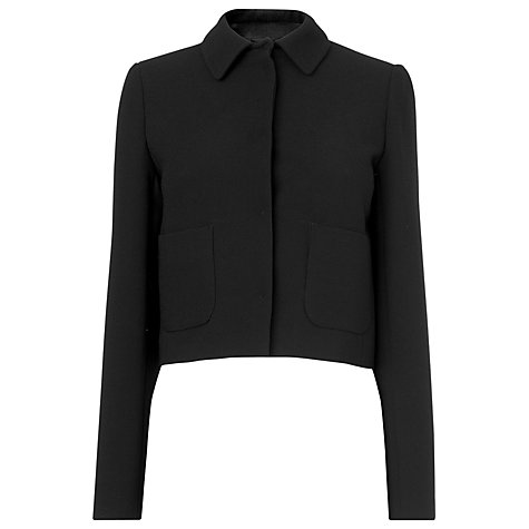 Buy L.K. Bennett Messina Jacket, Black Online at johnlewis.com