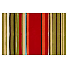 Buy John Lewis The Basics Cotton Stripe Rug, Multi Online at johnlewis.com