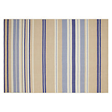 Buy John Lewis Vermont Stripe Rug, Blue Online at johnlewis.com