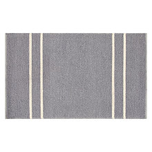 Buy John Lewis Croft Collection Wicklow Rug, Graphite Online at johnlewis.com