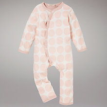 Buy Organics For Kids Spot Romper, Pink Online at johnlewis.com