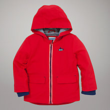 Buy John Lewis Submarine Rain Mac, Red Online at johnlewis.com