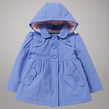 Buy John Lewis Trench Coat, Blue Online at johnlewis.com