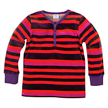 Buy Polarn O. Pyret Block Stripe Long Sleeve Top Online at johnlewis.com