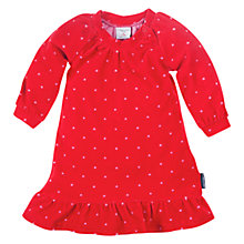 Buy Polarn O. Pyret Poppy Dress, Red Online at johnlewis.com