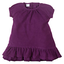 Buy Polarn O. Pyret Pin Corduroy Dress, Purple Online at johnlewis.com