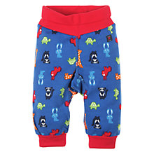 Buy Polarn O. Pyret Cotton Print Trousers, Morning Glory Online at johnlewis.com