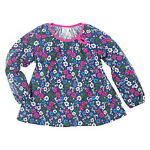 Buy Polarn O. Pyret Flower Tunic Top, Blue Online at johnlewis.com