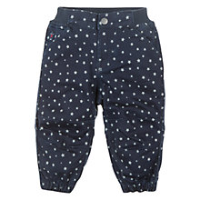 Buy Polarn O. Pyret Little Star Denim Trousers, Blue Online at johnlewis.com