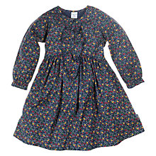 Buy Polarn O. Pyret Floral Dress, Dark Indigo Online at johnlewis.com