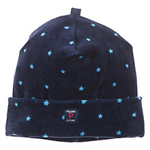 Buy Polarn O. Pyret Star Beanie Hat, Indigo Online at johnlewis.com