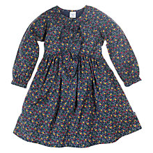 Buy Polarn O. Pyret Ditsy Floral Print Dress, Dark Indigo Online at johnlewis.com
