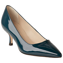 Buy L.K. Bennett Bury Court Shoes, Peacock Online at johnlewis.com