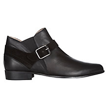 Buy NW3 by Hobbs Casey Ankle Boots, Black Online at johnlewis.com