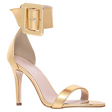 Buy Carvela Good Oversized Buckle Occasion Sandals Online at johnlewis.com