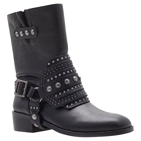 Buy Carvela Smog Ankle Boots, Black Online at johnlewis.com
