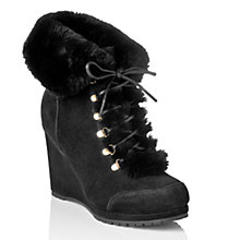 Buy L.K. Bennett Cecily Suede Ankle Boots Online at johnlewis.com
