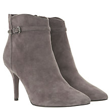 Buy Mint Velvet Buckle Boots, Grey Online at johnlewis.com