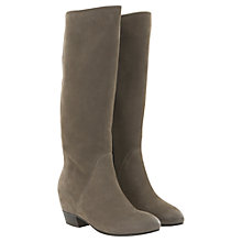 Buy Mint Velvet Concealed Wedge Long Boot Knee Boots Online at johnlewis.com