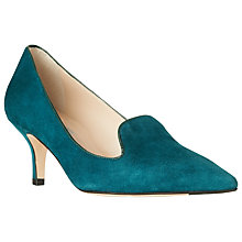 Buy L.K. Bennett Marie Slipper Court Shoes, Peacock Online at johnlewis.com