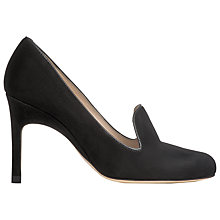 Buy L.K. Bennett Millie Court Shoes, Black Online at johnlewis.com