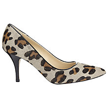 Buy Whistles Cassini Mid Heels, Leopard Online at johnlewis.com