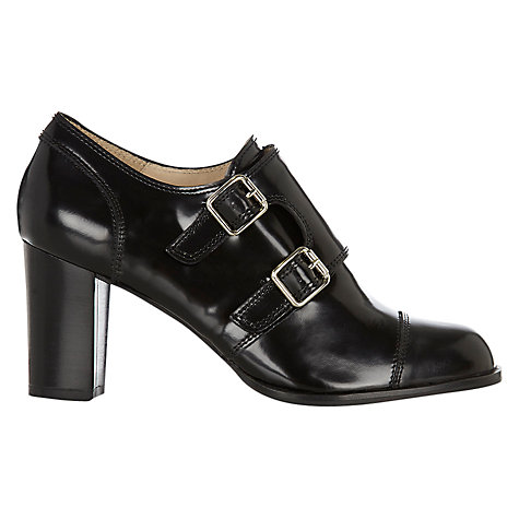 Buy Hobbs Ingrid Shoe Boots, Black Online at johnlewis.com