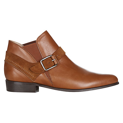 Buy NW3 by Hobbs Casey Ankle Boots, Tan Online at johnlewis.com
