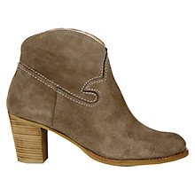 Buy NW3 by Hobbs Macie Ankle Boots, Taupe Online at johnlewis.com