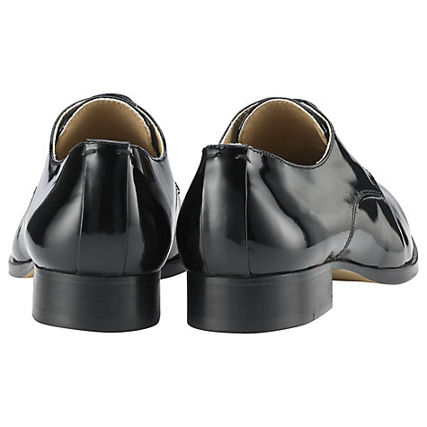 Buy Whistles Derby Brogue Shoes, Black Online at johnlewis.com