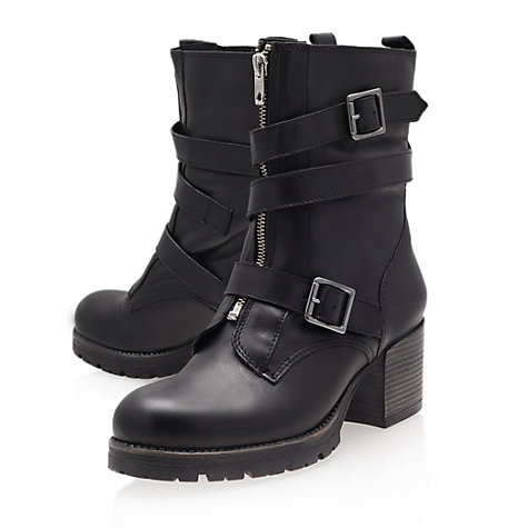 Buy Carvela Slam Ankle Boots, Black Online at johnlewis.com