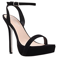 Buy Carvela Grape Occasion Sandals, Black Online at johnlewis.com