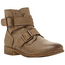 Buy Steve Madden Teritory Ankle Boots, Stone Online at johnlewis.com