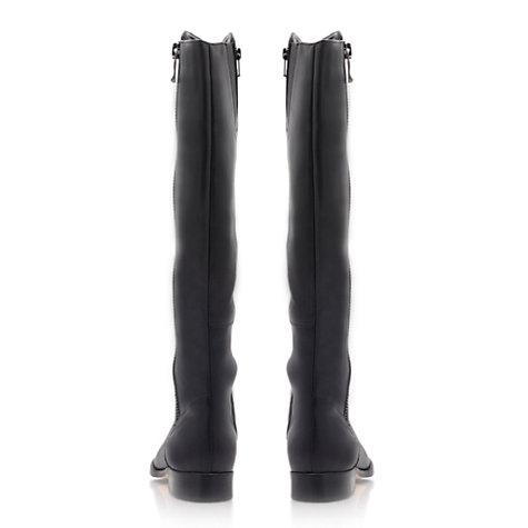 Buy Carvela Wanda Knee Boots, Black Online at johnlewis.com