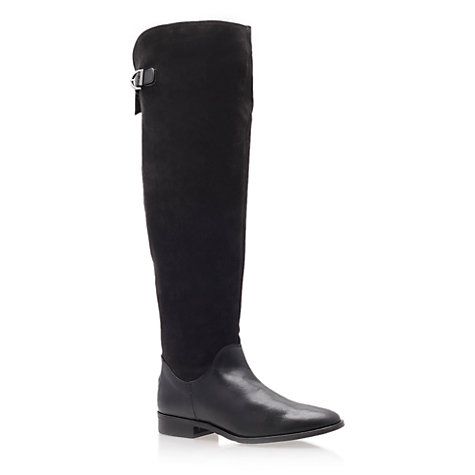 Buy Carvela Was Knee Boots, Black Online at johnlewis.com