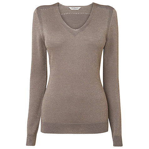 Buy L.K. Bennett Marie Jumper, Soft Mink Online at johnlewis.com