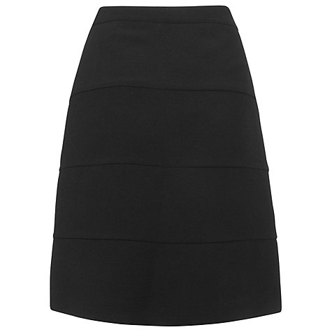 Buy L.K. Bennett Messina Skirt, Black Online at johnlewis.com