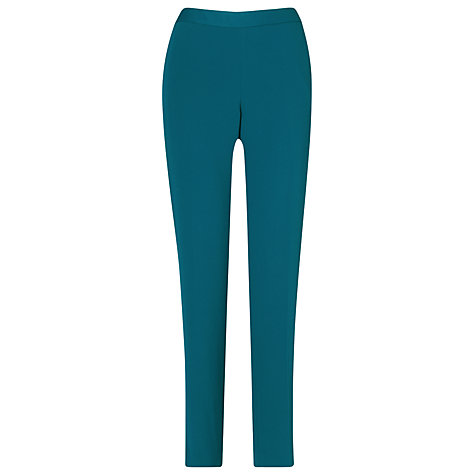 Buy L.K. Bennett Petunia Trousers, Peacock Online at johnlewis.com